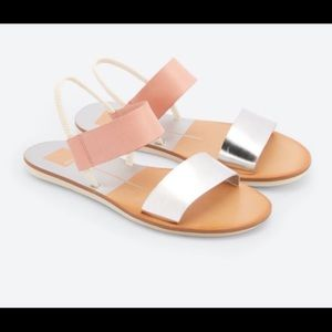❗️Dolce Vita Neily pink/silver sandals ❗️